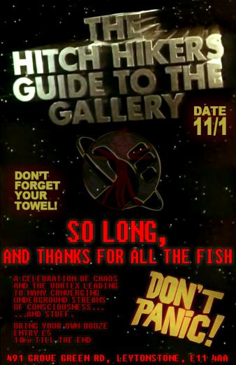 The last ever Gallery Party to end all parties...